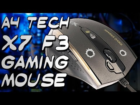 Unboxing A4Tech X7 F3 Gaming Mouse
