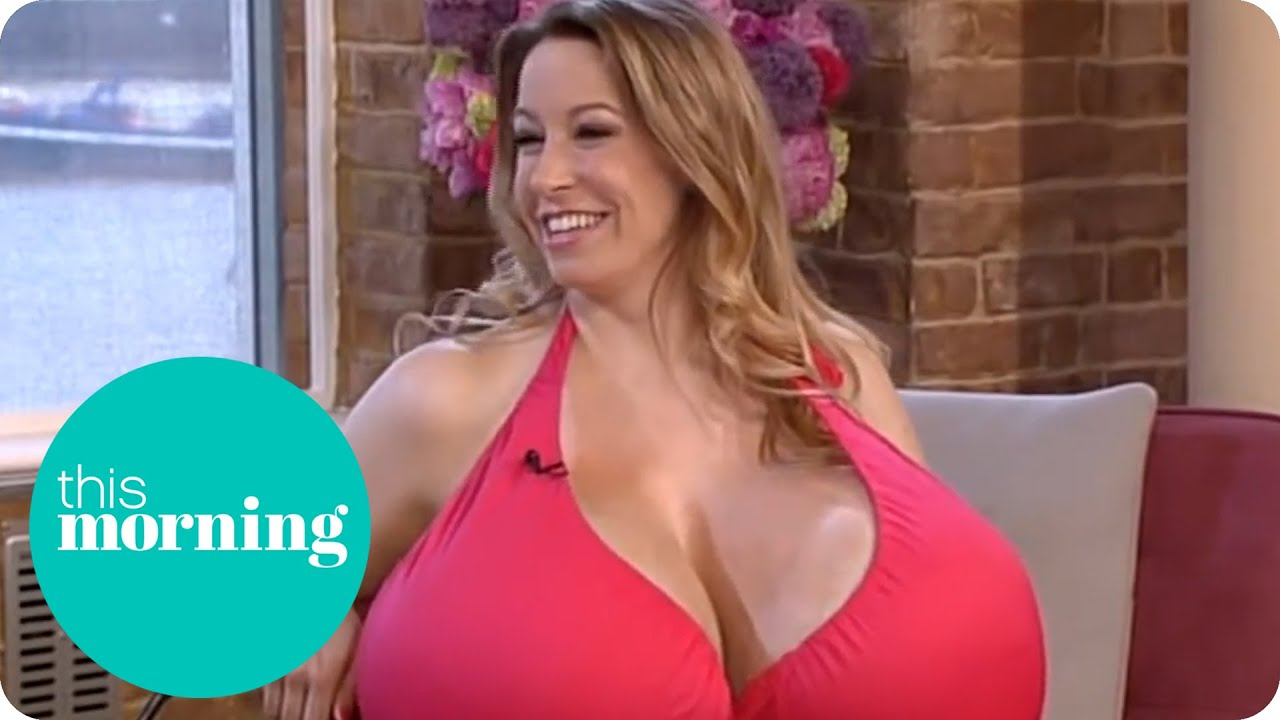 The Biggest Boobs in the World | This Morning - YouTube