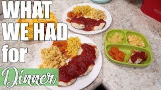 What's for Dinner | A Week of Quick & Easy Family Dinner Ideas