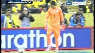 (Relator Enojado) Ecuador 2 Uruguay 1 (Relato Alberto Raimundi) Eliminatorias a Rusia 2018