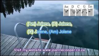 Jolene with chords, lyrics and vocal for guitar and ukulele