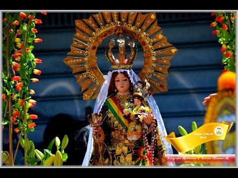 Voz Latina en Roma Presenta La festividad de la Virgen de Urkupiña en Roma  2016