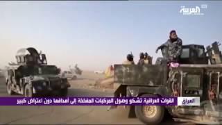 القوات العراقية تخوض حرب شوارع في الموصل مع داعش