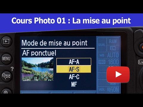 Cours Photo Débutant 01 : La mise au point manuelle et autofocus