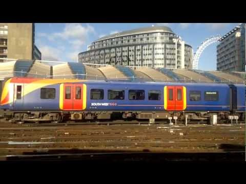 South West Trains: London Waterloo to Kingston.