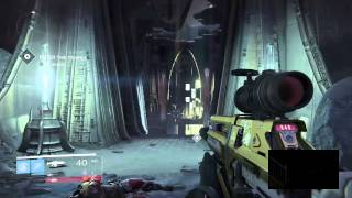 Destiny Target: Telthor, Unborn Vanguard Bounty Chamber of Night