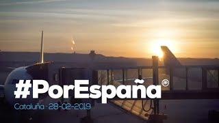 Magnífico día en Barcelona, Gerona y Lérida. #PorEspaña