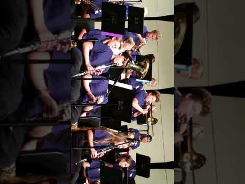 Twin peaks Middle School jazz band April 28 2018