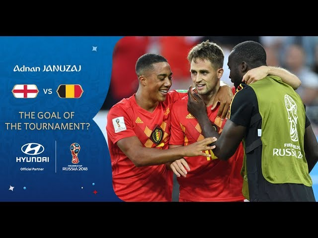 Adnan JANUZAJ goal vs England   2018 FIFA World Cup   Hyundai Goal of the Tournament Nominee