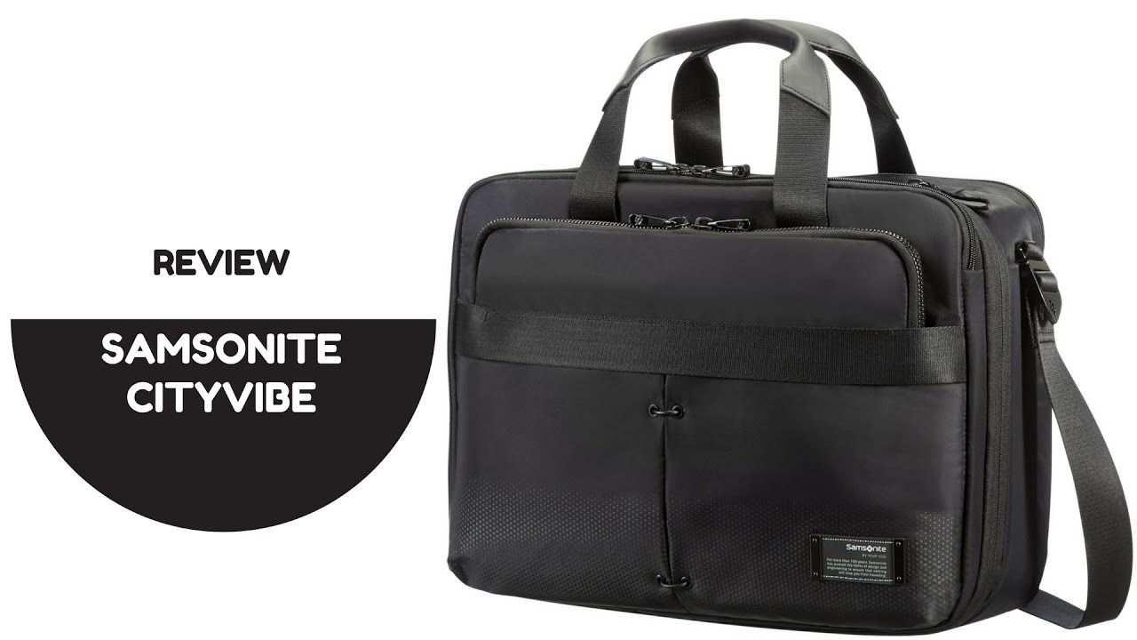 Samsonite Cityvibe Laptop Bag First Impression Review