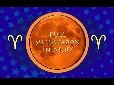 Oct 15 - Aries Full Super Moon - Break Free