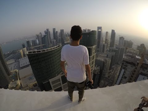 Rooftopping One of the tallest buildings in QATAR