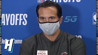 Erik Spoelstra Postgame Interview - Game 5 | Heat vs Bucks | Sept 8, 2020 NBA Playoffs