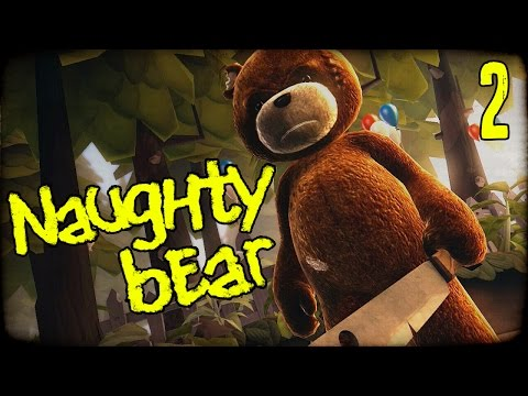 "NAUGHTY BEAR Gameplay Part 2 - ""Killer Party Massacre!!!"" PS3 Walkhtrough"