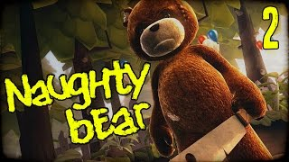 "NAUGHTY BEAR Gameplay Part 2 - ""Killer Party Massacre!!!"" PS3 Walkhtrough"