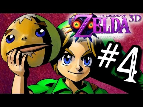 Majora's Mask 3D WALKTHROUGH Gameplay Part 4 - Goron Link (3DS)