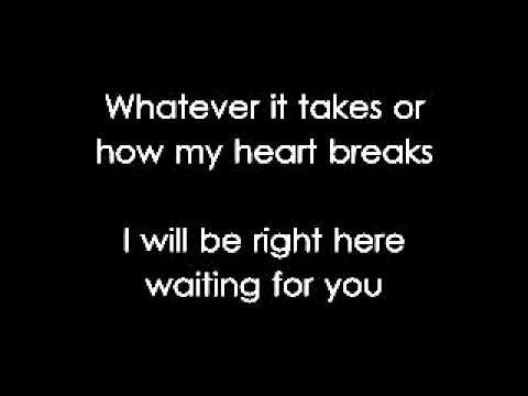 Right Here Waiting by Richard Marx Lyrics