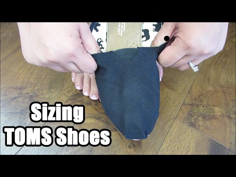 Shoe Daca: How To Fit And Size TOMS Shoes