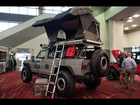 "Overland Jeep Wagoneer called the ""TOMAHAWK"" : SEMA show ..."