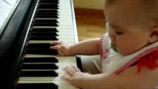 Jasmine playing piano