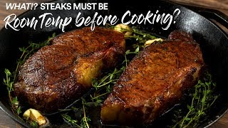 I've been COOKING steaks WRONG all this time? Seriously!?