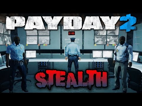 Beneath the Mountain STEALTH! - Payday 2 Blackridge Facility (Custom Heist)