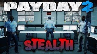 Beneath the Mountain STEALTH! - Payday 2 Blackridge Facility (Custom Heist)