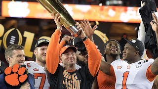 Clemson Routs Alabama To Win 2019 CFP National Championship