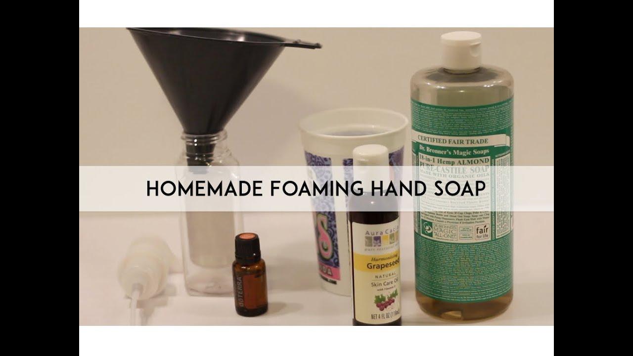 how to make homemade hand soap