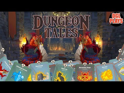 Dungeon Tales : An RPG Deck Building Card Game - Android Gameplay