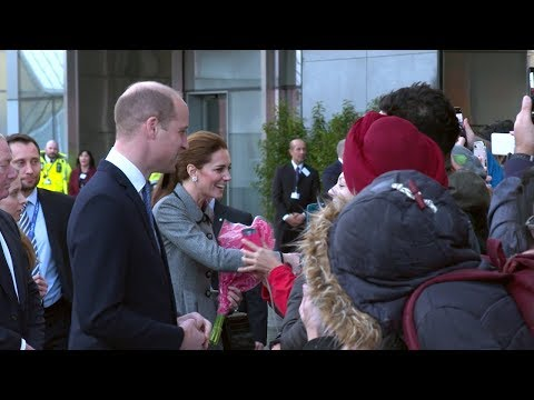 The Duke and Duchess of Cambridge, Royal Visit 2018 - University of Leicester