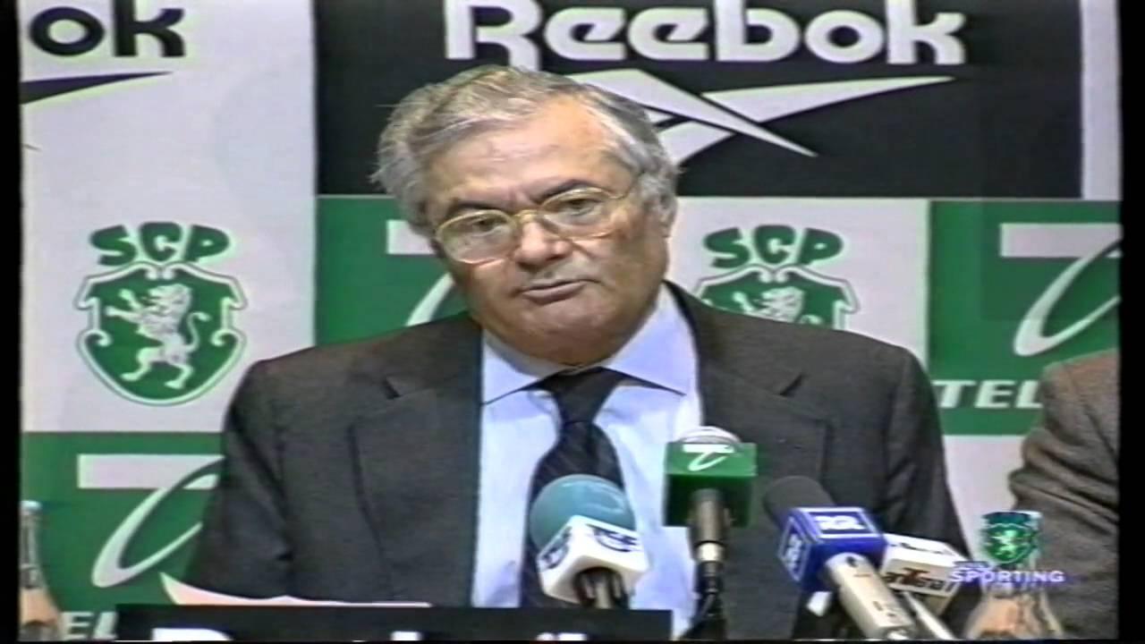 Sporting :: Comunicação sobre a arbitragem por José Roquette em 06/01/1999.