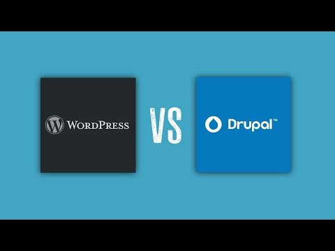 WordPress vs Drupal: SEO, Security, Extensions     All Compared