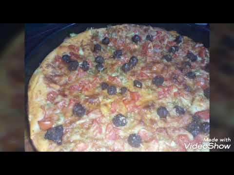 صورة  طريقة عمل البيتزا طريقة عمل البيتزا بالسجق طريقة عمل البيتزا من يوتيوب