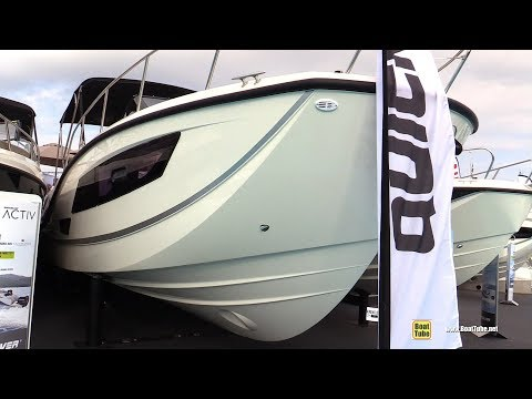 2019 Quicksilver Activ 875 Sundeck Boat - Walkaround - 2018 Cannes Yachting Festival