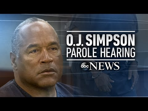OJ Simpson parole hearing, verdict: full
