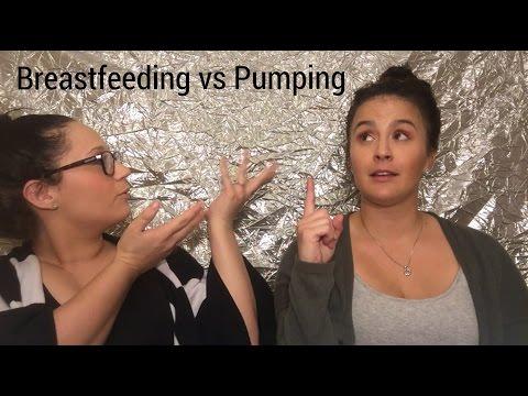 Breastfeeding vs Pumping