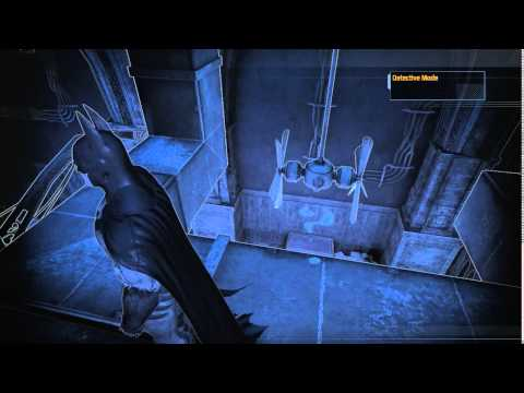 This fiendish puzzle literally appears out of thin air. Batman Arkham Asylum Riddle