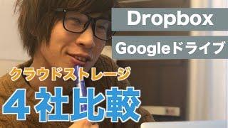 クラウドストレージを比較してみよう!Dropbox/Box/Googleドライブ/OneDrive