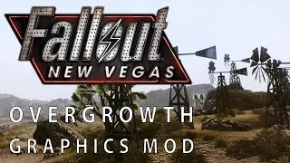 Fallout New Vegas - Mod-Grafik mit Maximum Overgrowth Graphics DEAD Version vs. Original