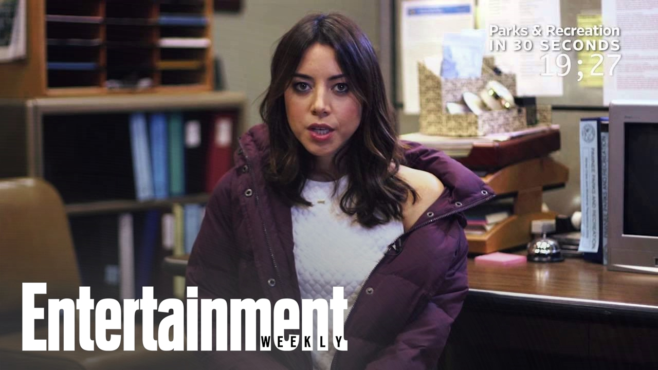 Watch Exclusive: Parks and Rec' Star Aubrey Plaza Talks Sex' With Andy Samberg in VMagazine video