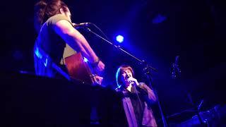 Joanne Hammil performs with her son, Adam Ezra