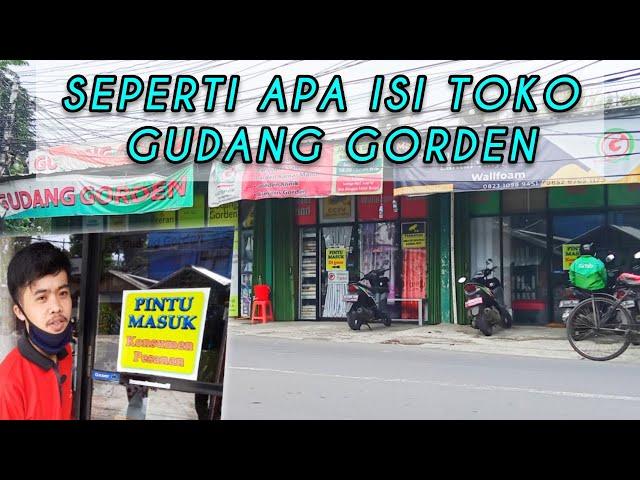 Store Tour - ADA APA AJA SIH DI TOKO GUDANG GORDEN ??