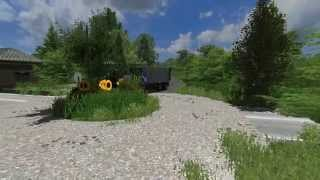 Landwirstchafts simulator 2011 - MPmap V3 by TheMarekLS = How the roads looks:)