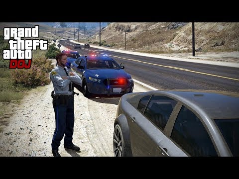 GTA 5 Roleplay - DOJ 230 - Mr. Clark (Law Enforcement)