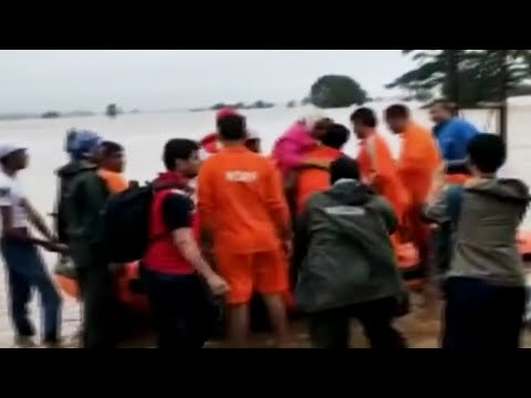 Maharashtra floods: NDRF continues rescue ops in Sangli, 2 lakh displaced