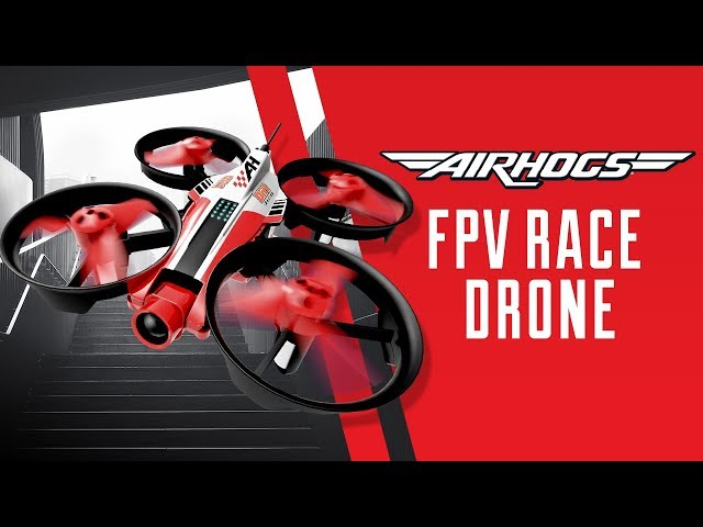 Introducing The NEW Air Hogs DR1 FPV Race Drone