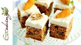 Потрясающий Морковный пирог мягкий и влажный / vegan (постный) gluten free