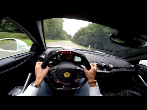 POV Drive: Ferrari F12berlinetta + Launch Control