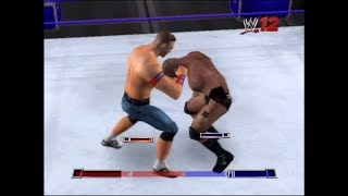 WWE 2K12 GAME   John cena vs Brock lesnar, a gameplay video by SHADAB